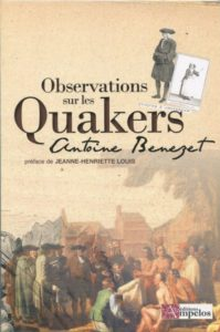 Livres Quaker Benezet 199x300 - Books on Quakerism in French