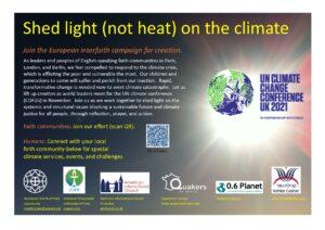 climateadOct15 300x212 - COP26 : Lancement de la campagne interconfessionnelle sur le changement climatique